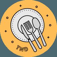 Tasty New Dishes Logo - 200px